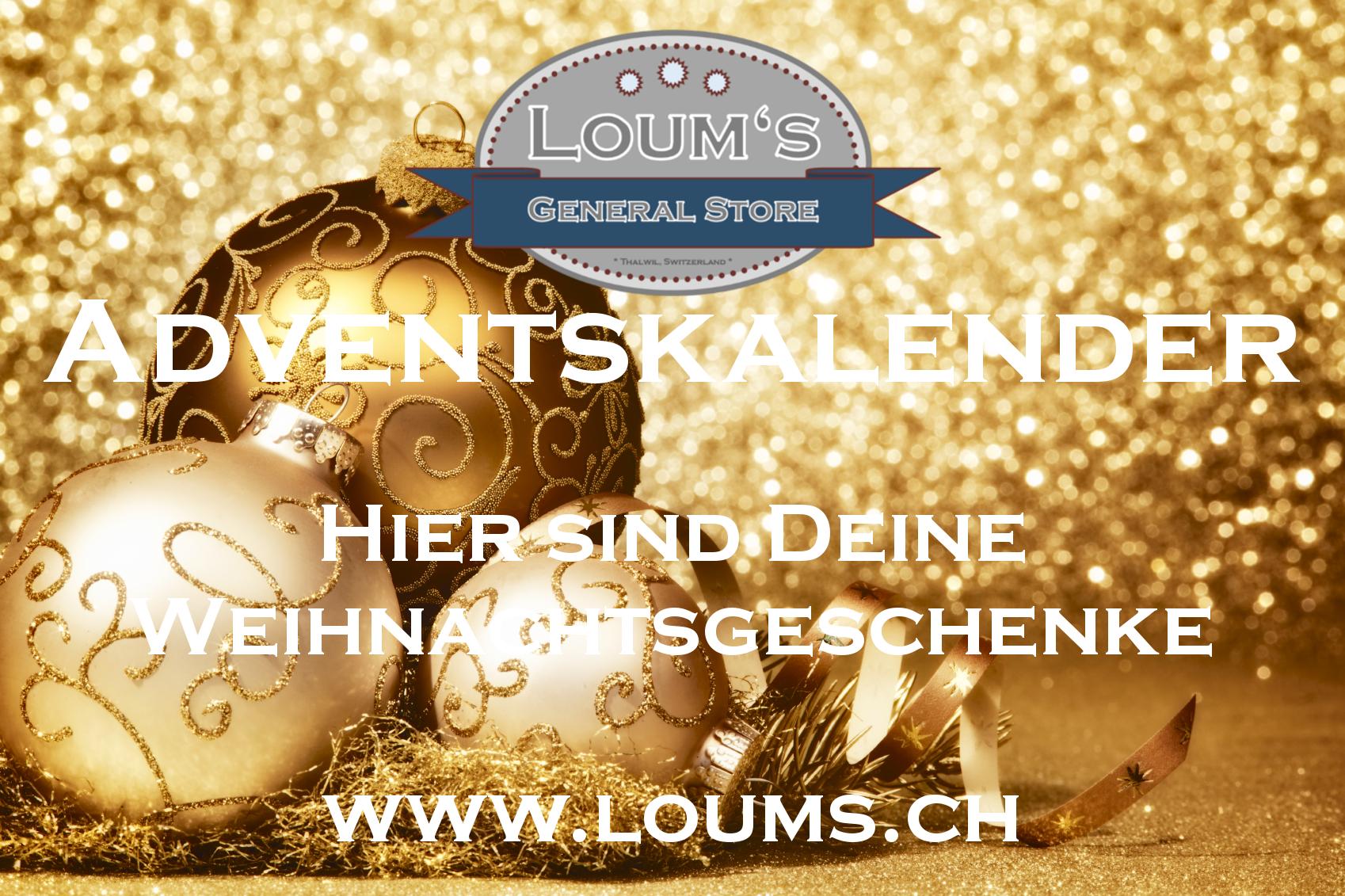 Loum\'s General Store – Adventskalender: Coole Geschenke und satte ...